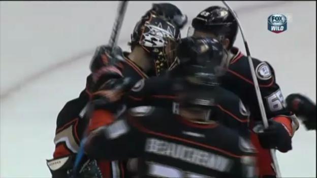 Video «Eishockey: Highlights Ducks - Wild» abspielen