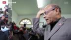 Video «Präsidentschaftswahlen in Tunesien» abspielen