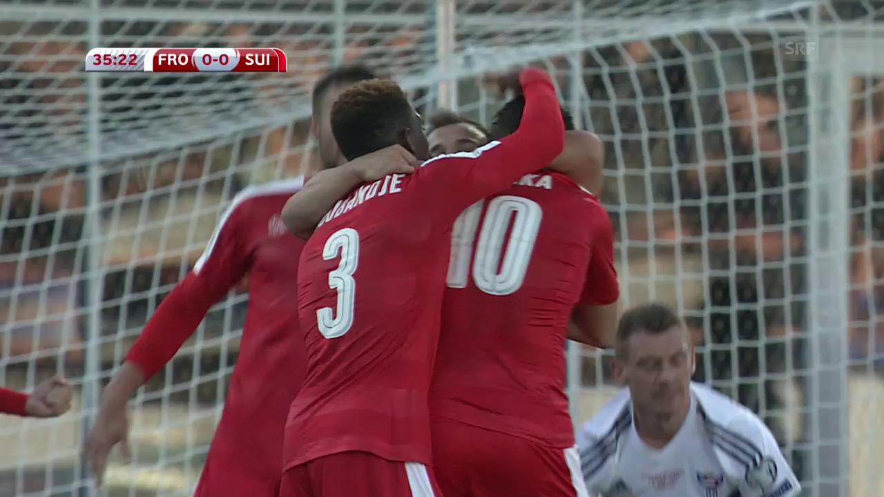 Matchbericht Färöer-Schweiz