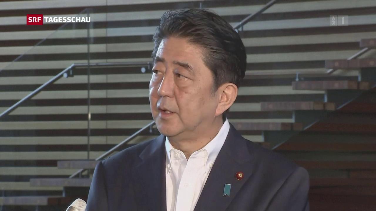 Nordkorea feuert Rakete über Japan ab