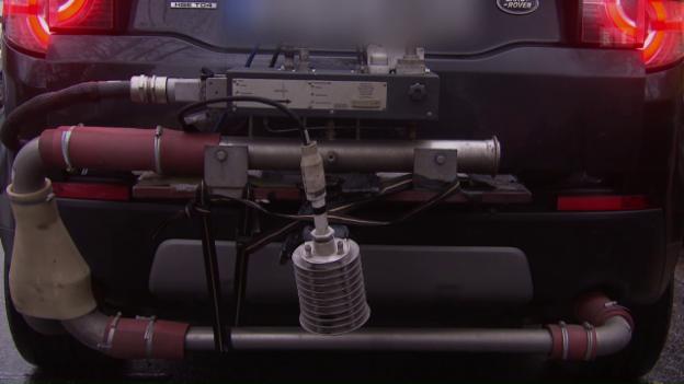 Video «Die Diesel-Lüge: So tricksen Autobauer bei der Abgasreinigung» abspielen