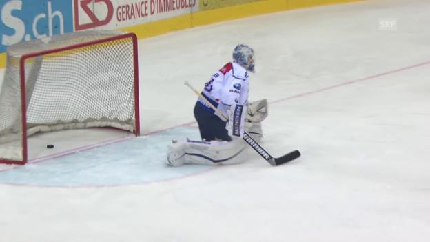 Video «Eishockey: Playoff 2015, Genf-ZSC Lions» abspielen