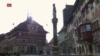 Video «Neue Wege trotz Denkmalschutz » abspielen