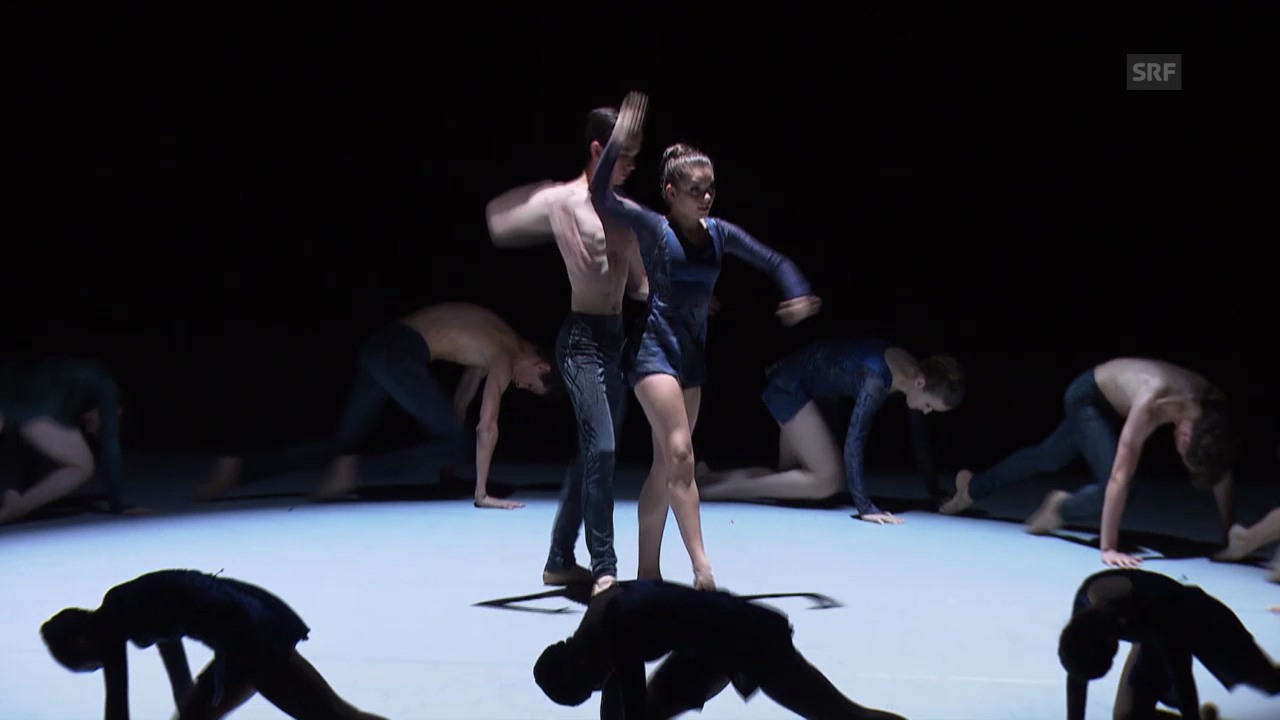 Alicia tanzt auf der grossen Bühne