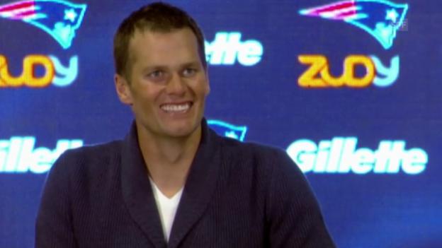 Video «NFL: Brady, 400. TD-Pass» abspielen