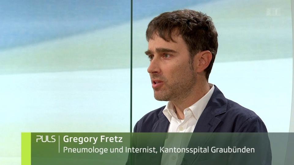 Studiogespräch 1 mit Gregory Fretz