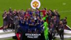 Video «Manchester United schlägt Ajax souverän» abspielen