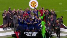 Link öffnet eine Lightbox. Video Manchester United schlägt Ajax souverän abspielen