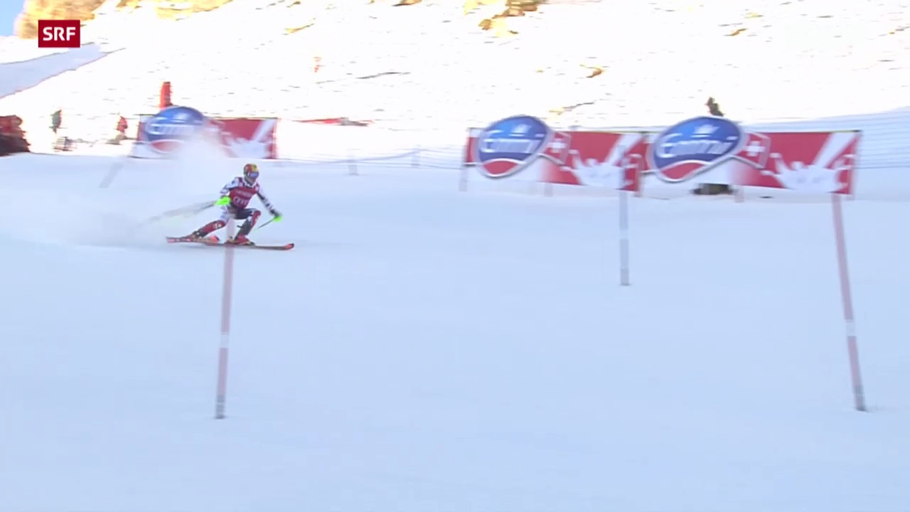 Ski: Slalom Männer in Val d'Isère