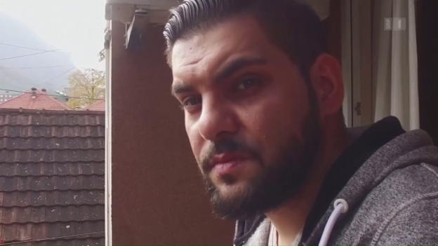 Video «Kosovo einfach: Rapper Besko ganz unten» abspielen