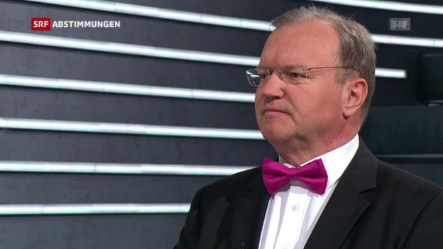 Video «Claude Longchamp: «Wir denken heute weit in die Zukunft»» abspielen