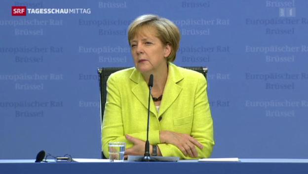 Video «Bundeskanzlerin Merkel wird 60» abspielen
