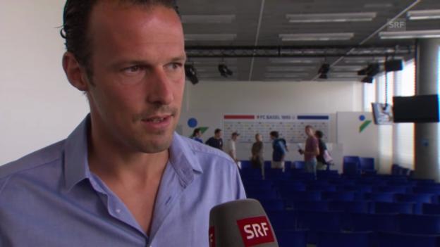 Video «FCB-Captain Marco Streller zur Auslosung» abspielen
