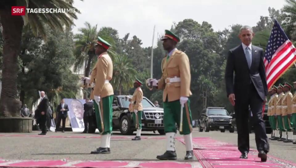 Obama besucht Äthiopien