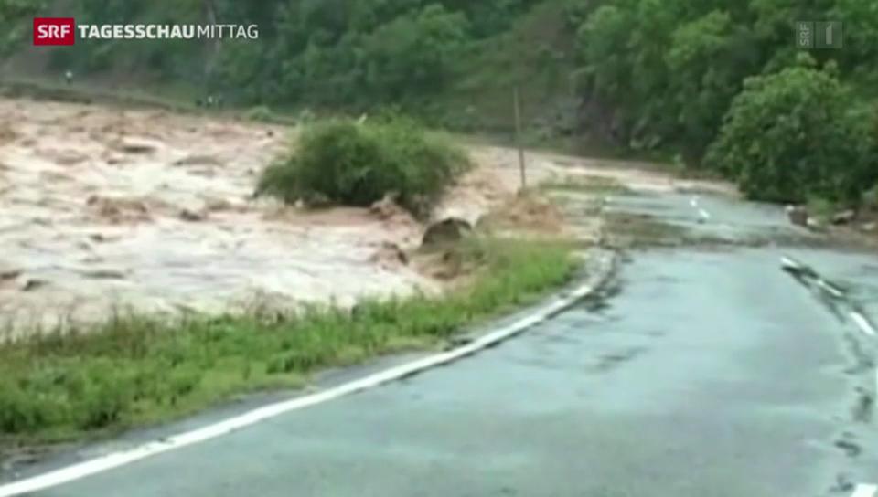 Monsun fordert Hunderte Tote