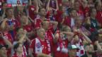 Video «Bayern gewinnt DFB-Pokal nach Elfmeterschiessen» abspielen