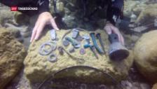 Video «Schatz bei Caesarea gefunden» abspielen