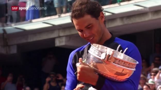 Video «Nadal schafft die «Decima»» abspielen