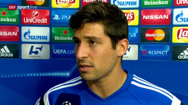 Video «Fussball: Champions League, Interview Callà» abspielen