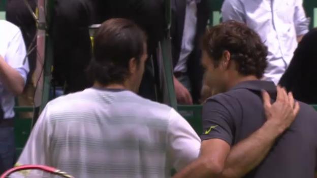 Video «ATP Halle: Final Federer - Haas («sportaktuell»)» abspielen