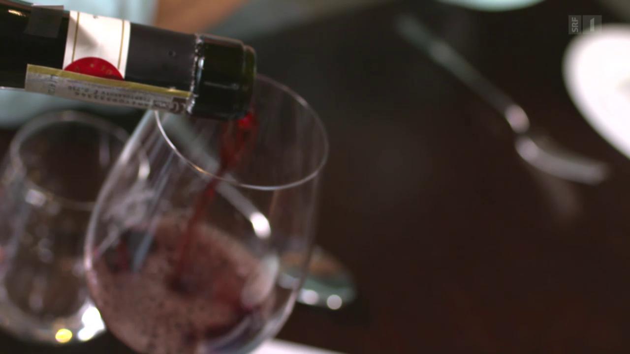 Das berühmte Glas Wein
