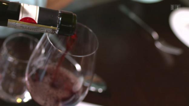 Video «Das berühmte Glas Wein» abspielen