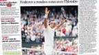 Video «Federer: In Topfrom und der grosse Favorit im Wimbledon-Final» abspielen