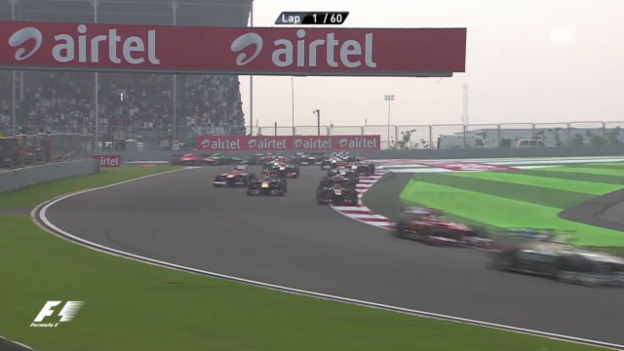 Video «Formel 1: Highlights GP Indien («sportlive»)» abspielen