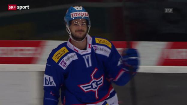 Video «Spielbericht Kloten Flyers-ZSC Lions («sportpanorama»)» abspielen