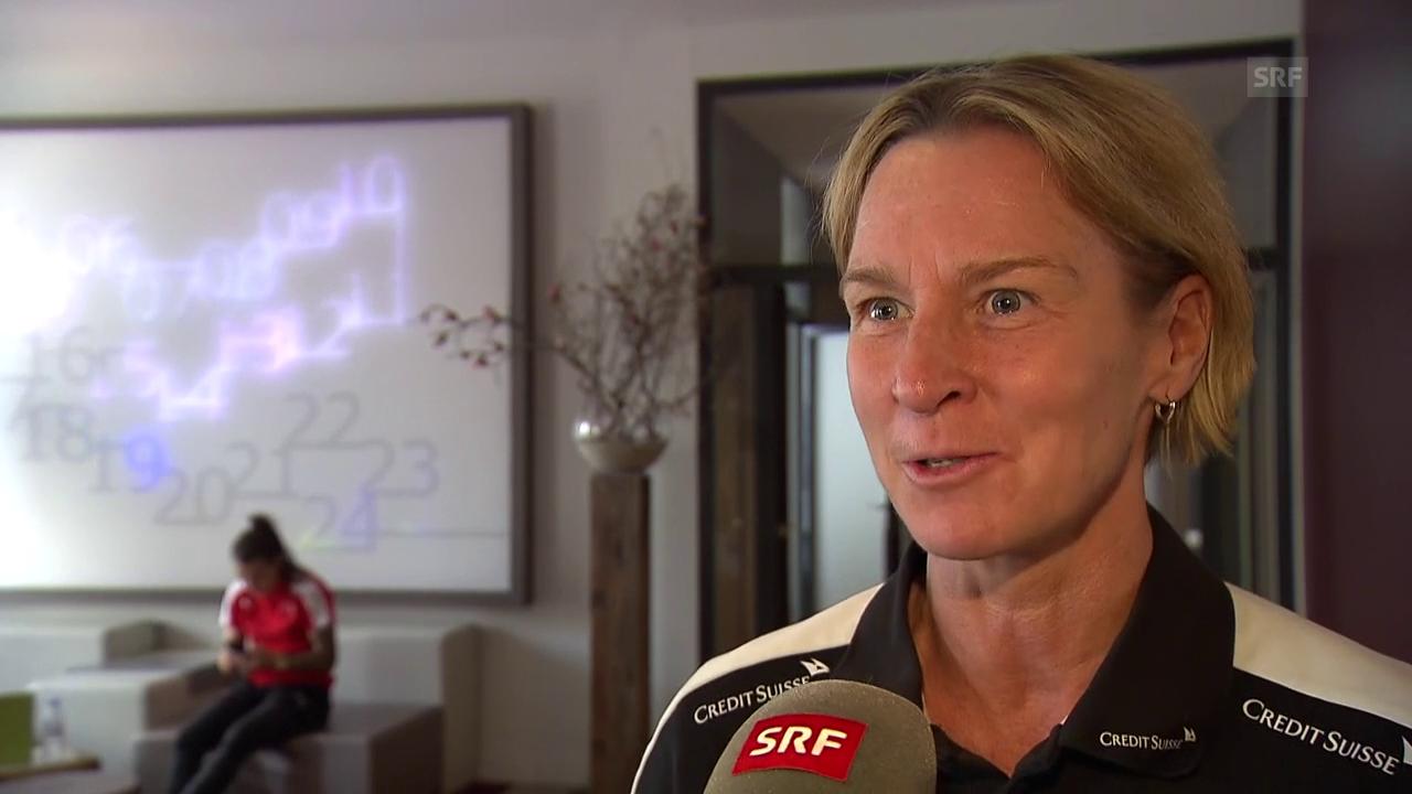Voss-Tecklenburg: «Die älteren Spielerinnen sind gefordert»