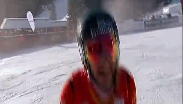 Skicross Nakiska: Final Frauen