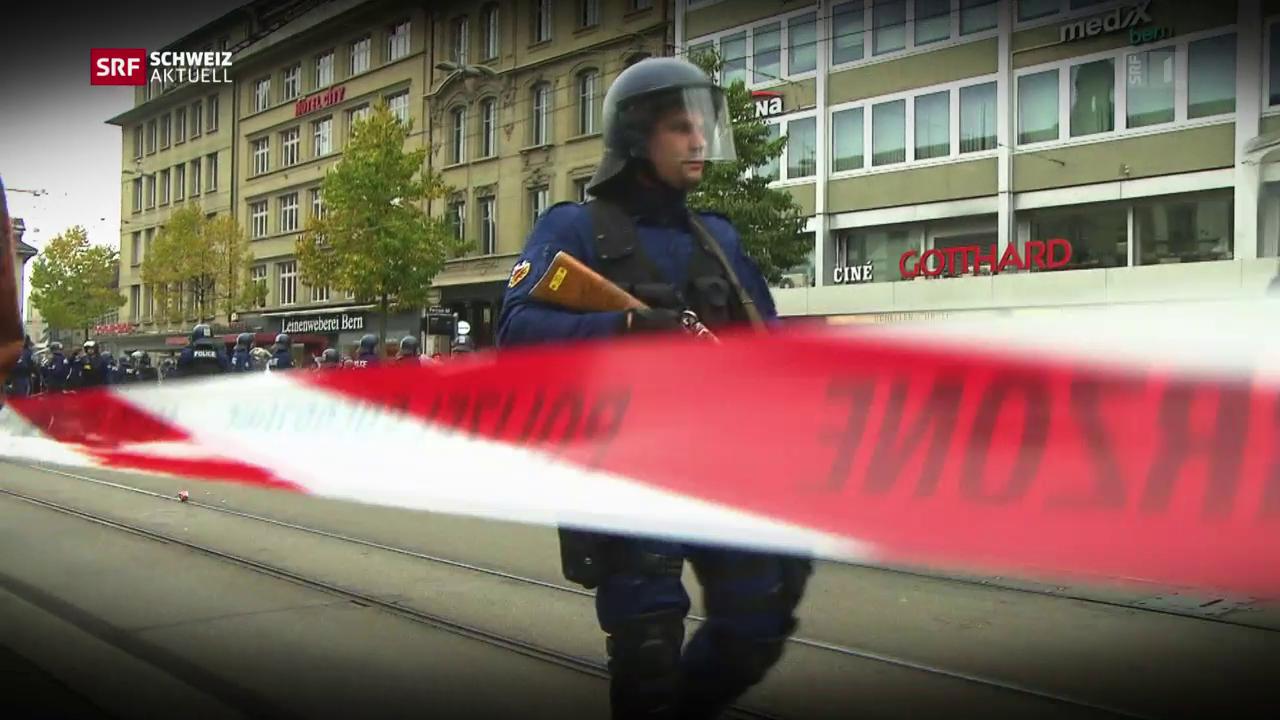 Berner Polizisten sollen politischen Druck ausüben
