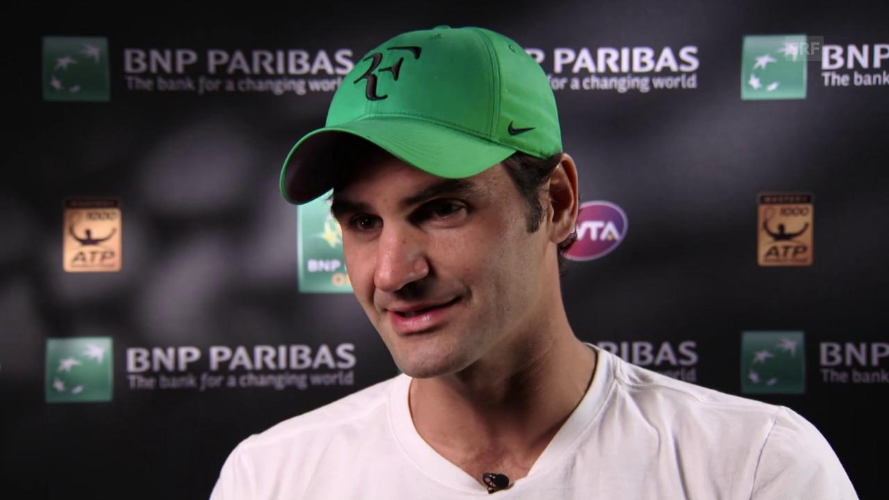 Federer über seine Taktik gegen Nadal