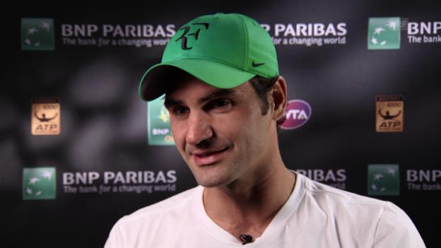 Video «Federer über seine Taktik gegen Nadal» abspielen