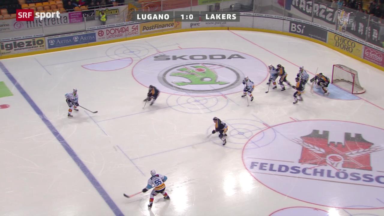 Assist von Fernholm gegen Lugano