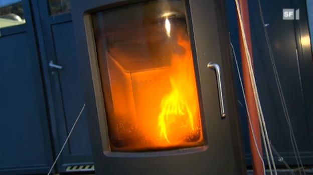 Video «Hohe Feinstaub-Belastung durch Holzverbrennung» abspielen