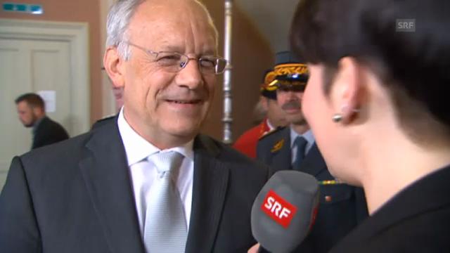 Johann Schneider-Ammann, Wirtschaftsminister