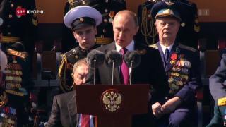 Video «FOKUS: Putin demonstriert militärische Stärke » abspielen