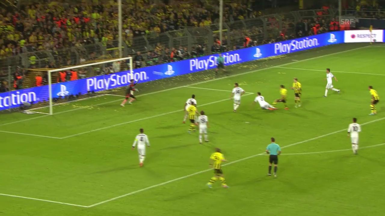 Fussball: Die Duelle zwischen Real und Dortmund in der letzten Saison