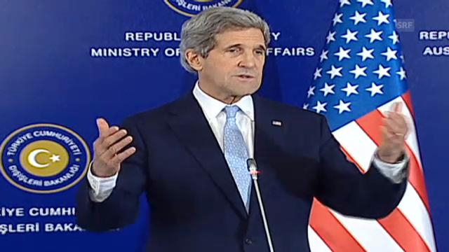 Kerry zu Syrien (engl.)