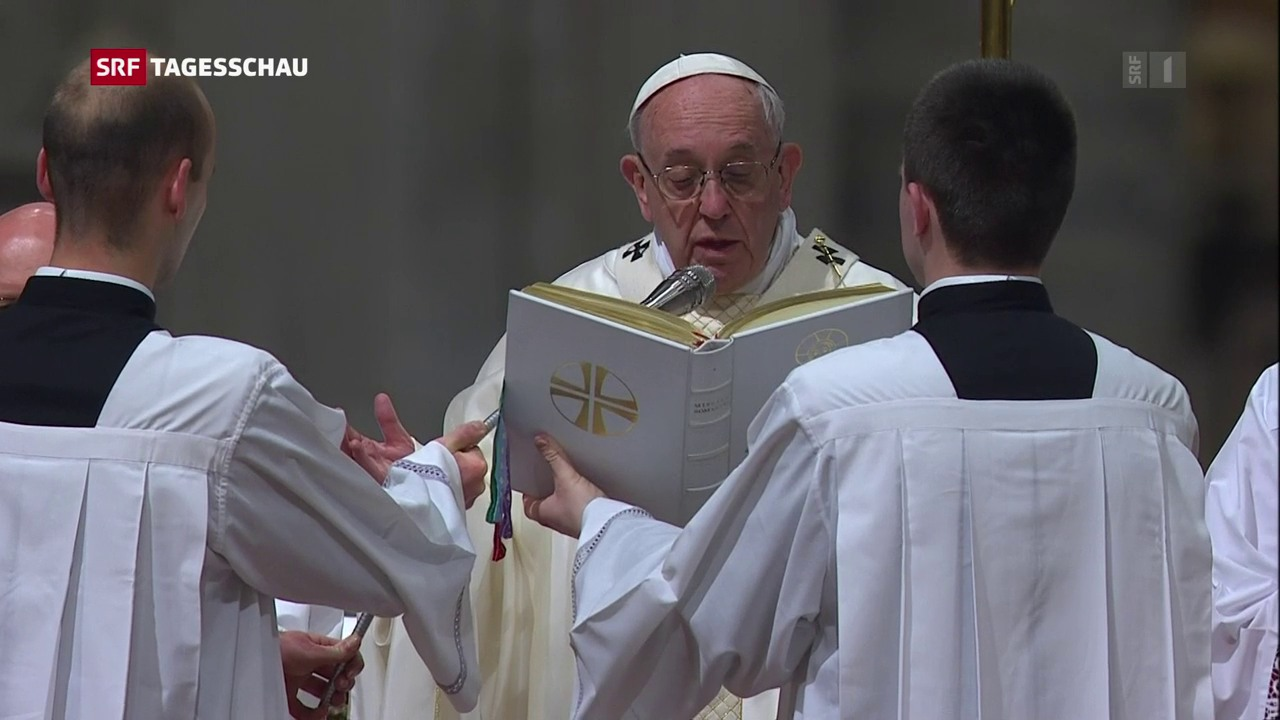 Eindringliche Worte des Papstes zum Osterfest