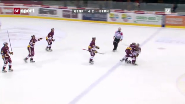 Video «NLA: Genf - SCB («sportaktuell»)» abspielen