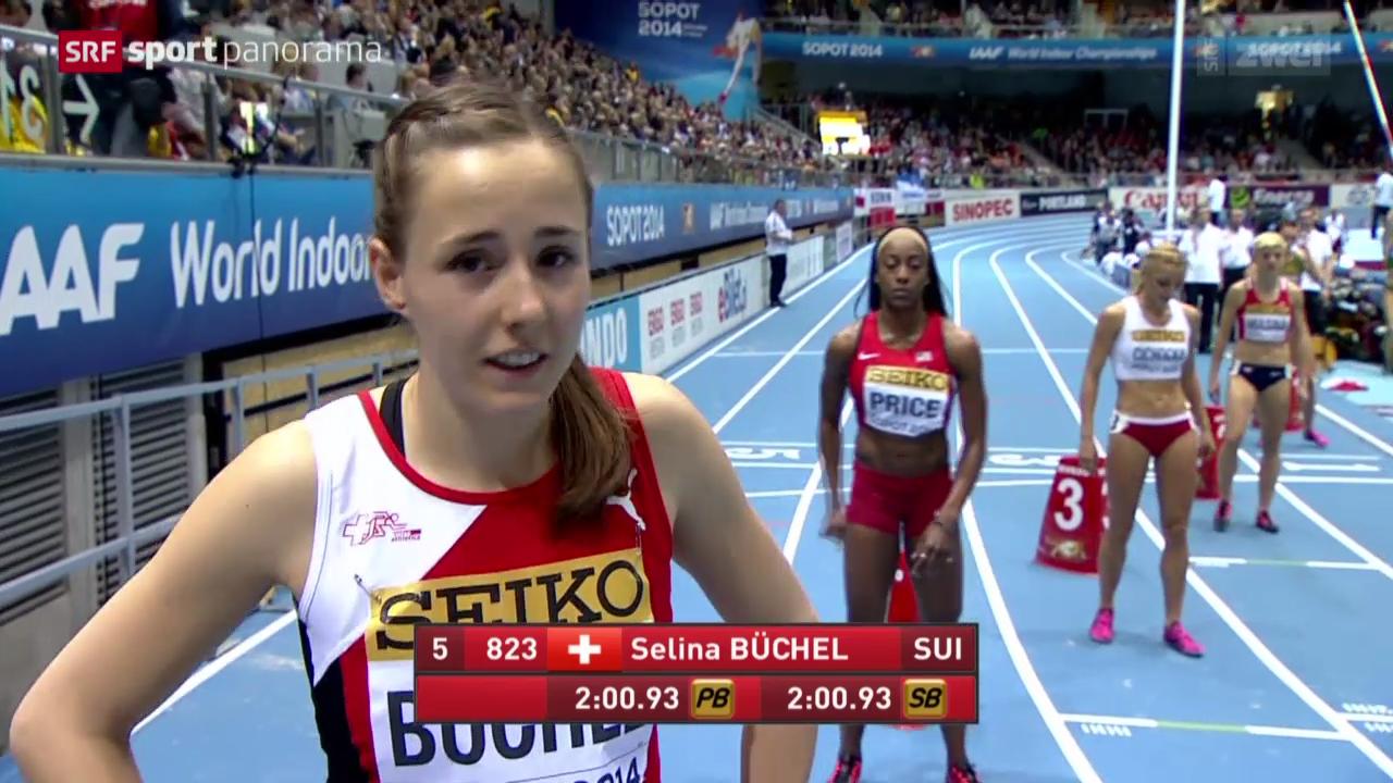 LA: Hallen-WM in Sopot, Final 800 m Frauen