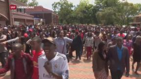 Video «Konfusion in Simbabwe» abspielen