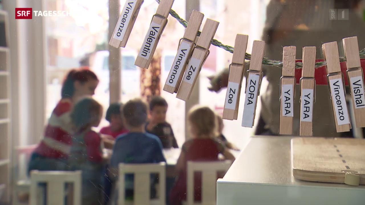 Viele Kinder mit Migrationshintergrund