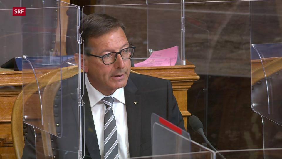 Joseph Dittli (FDP/UR): «Man nimmt in Kauf, das jemand gegen seinen Willen zum Organspender wird»