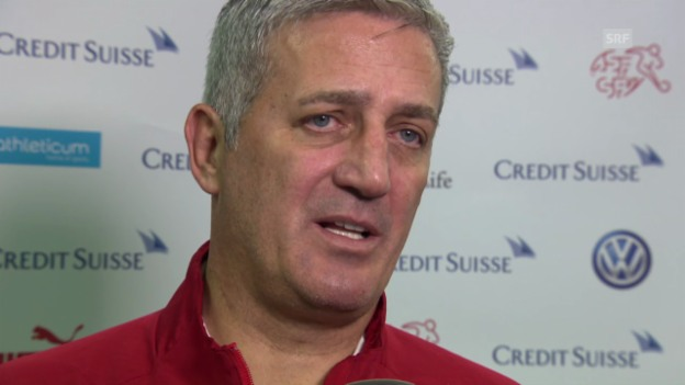 Video «Fussball: Interview mit Nationaltrainer Vladimir Petkovic» abspielen
