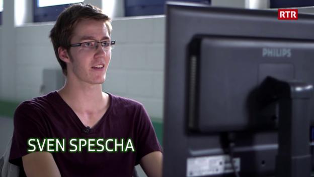 Laschar ir video «Sven Spescha, il hacker»