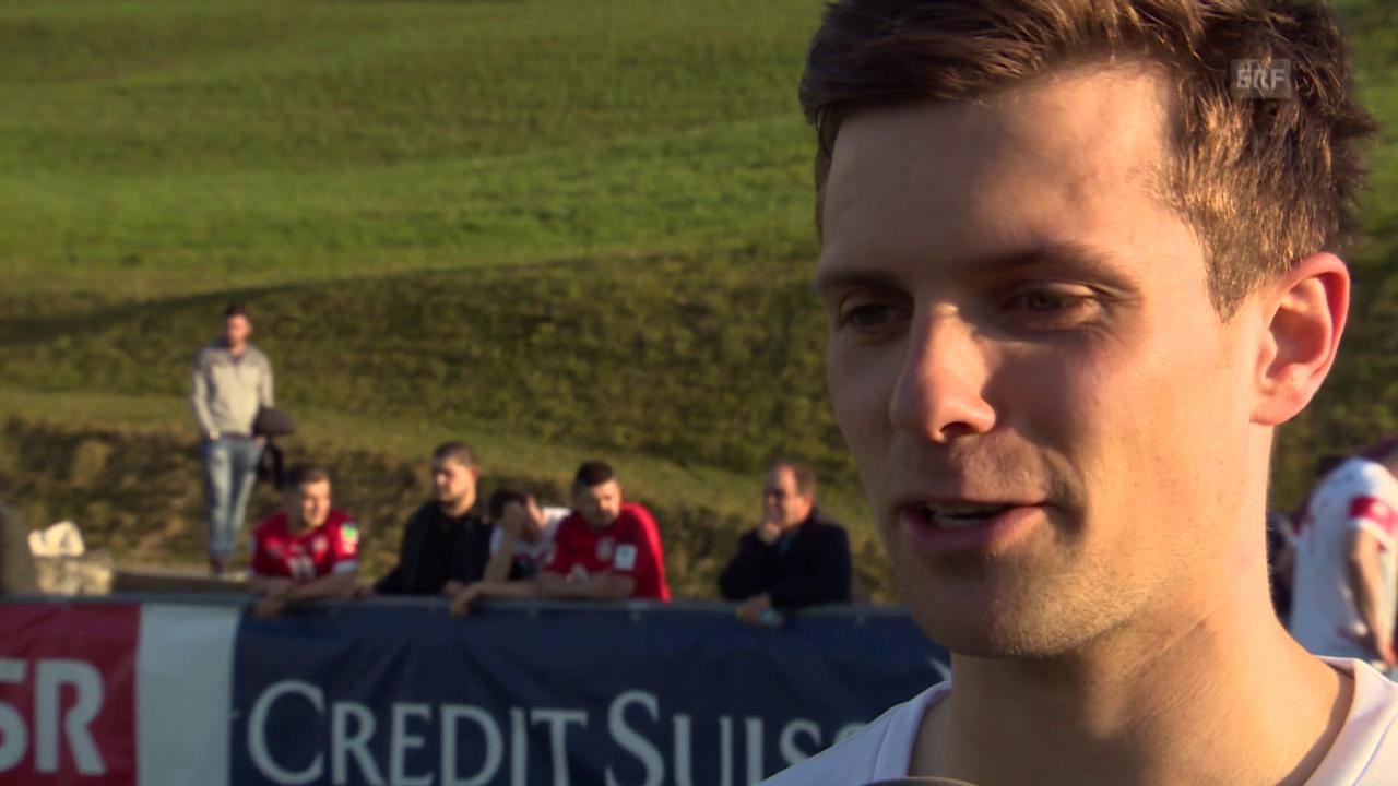 Fussball: Nati, Interview Valentin Stocker