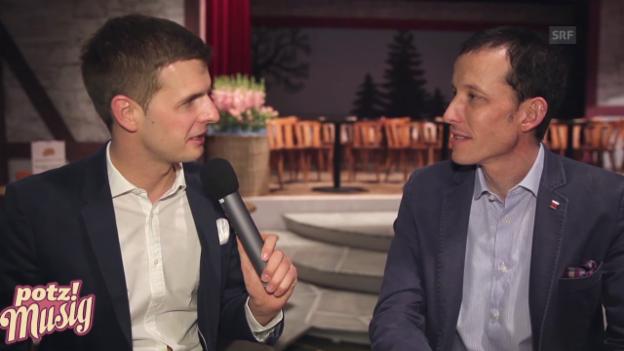 Video ««Potzmusig» hinter den Kulissen: Andreas Gabriel» abspielen